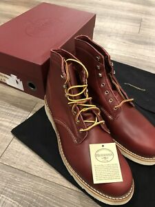 """Wolverine X Horween Leather USA 1000 Mile W40587 Original Wedge 6"""" Boots US 11.5"""