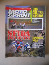 MOTOSPRINT n°28 1989 CONFRONTO APRILIA TUAREG 600 WIND  [MS8]