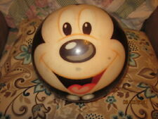 MICKEY MOUSE BOWLING BALL 10 LBS--USED