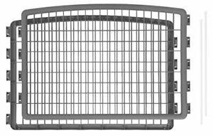 IRIS USA 24'' Pet Playpen 2 Panel Add-On Grey CI-600