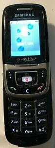 Samsung SGH E635 Silver (Consumer Cellular) Cell Phone Excellent Used TEST ITEM