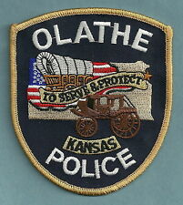OLATHE KANSAS POLICE PATCH