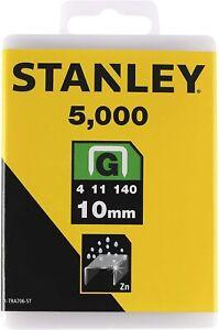 Stanley Klammern Typ G 10 mm 1-TRA706-5T (5000 Stück)