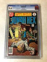 Jonah Hex #1 CGC 9.6 NM+ WHITE key issue WEIRD WESTERN HERO 1977 DC