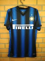 Inter Milan Player Issue Jersey 2010 2011 Home S Shirt 382252-010 Football Nike