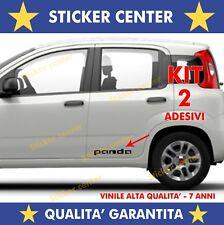 KIT 2 ADESIVI SPORTELLO PORTA DOOR FIANCATA FIAT PANDA YOUNG CROSS STICKER