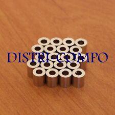50pcs coloré en laiton perles Blotter lisse loose Entretoises Beading Craft 6 mm