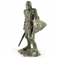 Germany. Saxon knight 14th cent. Tin toy soldiers 54mm miniature metal sculpture
