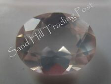Natural 8x6 Loose Oval Cut 1.07ct Rose Quartz AAA