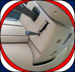 2005-2011 Crown Victoria Steering Wheel Column Trim Bezel Cover Light Camel Tan