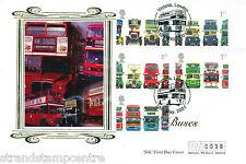 Autobus 2001 (Francobolli) - Westminster (Seta) UFFICIALE