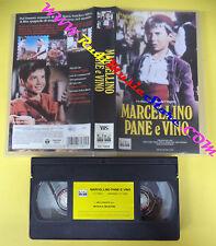 VHS film MARCELLINO PANE E VINO 2002 Pablito Calvo COLUMBIA CC74822(F63) no dvd