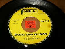 THE DOZIER BOYS - SPECIAL KIND OF LOVIN - WONDERING LOVER    / LISTEN - DOO WOP