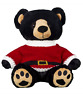 "SANTA SWEATER JUMPER - TEDDY BEAR CLOTHES FITS 16"" /40cm BUILD A TEDDY BEAR"