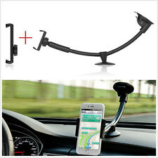 """Multifunction Autos Holder Long Arm Windshield Mount Bracket For  5"""" to 7"""" Phone"""