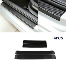 1 Set Carbon Fiber Door Edge Paint Protection Vinyl Decals For All Car Universal