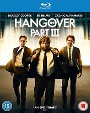 THE HANGOVER PART 3 - BLU RAY - NEW / SEALED - UK STOCK