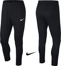 Nike Dry Park18 Mens Football Pants Black Running Sport Gym Dri-Fit Slim Tapered