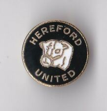 Hereford United - lapel badge brooch fitting