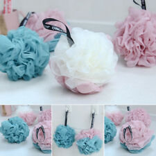 Large Bath/Shower Body Exfoliate Puff Sponge Mesh Net Bubble Wash Body Ball