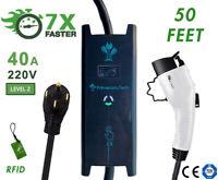 32/40AMP Level 2 EV Electric Vehicle Charger 220V 30 40 50 Feet 14-50 6-50 10-50