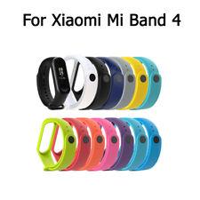 For Xiaomi Mi Band 4 Silicone Sports Wrist Band Bracelet Smart Watch Band Strap