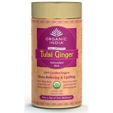 Organic India Tulsi Ginger 100 Gram with free shipping