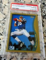 PEYTON MANNING 2012 Topps Reprint 1998 Rookie Card RC PSA 10 Broncos Colts HOF