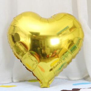 "5pcs 18"" Love Heart Foil Helium Balloons Wedding Party Birthday Decoration"