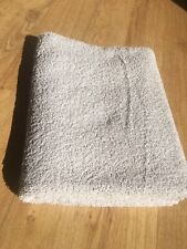 large cotton BATH TOWEL The GEM TOWEL white 114x69cm