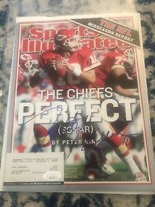 Trent Green Signed Sports Illustrated Magazine Chiefs JSA Auto Free Shipping