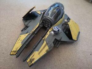 Star Wars - ROTS - Anakin Skywalker Eta 2. Jedi Starfighter (yellow). Complete.