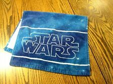 Star Wars Logo Hand Towel Blue Space Kitchen towel EUC
