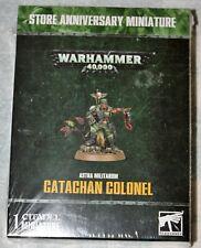 Warhammer 40000 40k Catachan Colonel Limited Edition