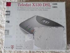 Telefonanlage Teledat X130 DSL Modem & 2 Analoge Anschlüsse & USB PC Anschluss