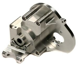 New Integy Traxxas Stampede 2wd Rustler Bandit Aluminum Gear Box Silver T7983S