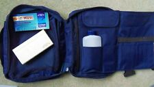 Winsor & Newton field bag with travel bottle & 12 pan paint box.