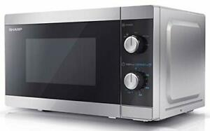 Sharp YC-MS01U-S 800 W Solo Microwave Oven with 20 Litre Capacity