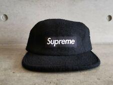 Supreme Featherweight Wool Box Logo Camp Cap - Black