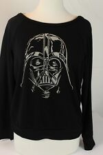 Star Wars Darth Vader Women's Long Sleeve Black Tee Shirt/Top Size Large