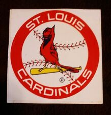 St. Louis Cardinals Static Cling Decal (1980's)