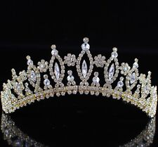 Wedding Bridal Crown For Women Crystal Tiara Headband Pageant Jewelry Accessorie