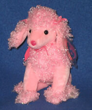 PINKY POO the DOG - TY PINKYS BEANIE BABY - MINT w/ MINT TAG - NON MINT TUSH TAG