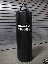Profi Boxsack Sandsack gefüllt 120 schwarz Made in Germany