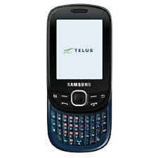 SAMSUNG ELEVATE SGH-T356 SLIDER QWERTY TELUS MOBILITY MOBILE CELL PHONE CELLULAR