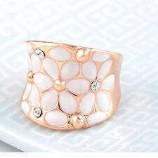Anillos de bisutería anillo con piedra de cristal