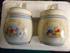 NEW Pair of 2000 Disney Winnie The Pooh Spice Jars by Lenox 2000 CHIVES & CELERY