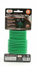 Rubber Coated Flex Wire 12ft Support Soft Ties Plants Vines Trees