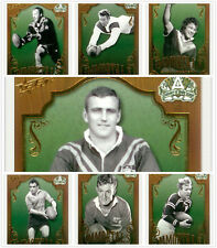 2008 NRL Centenary Of Rugby League Trading Card Immortals Full Set (7)