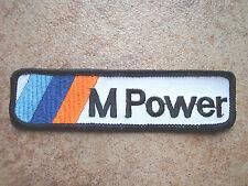 2 Stück Aufnäher für BMW  M Power Neu (Nr.3012)